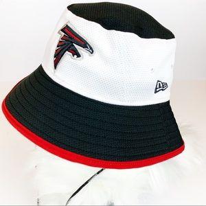 Atlanta Falcons NFL bucket sun strap hat